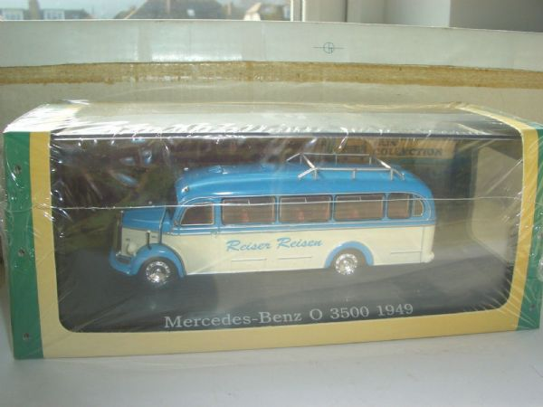 Atlas DeAgostini 1/72 Mercedes Benz O 3500 Coach Reiser Reisen Germany